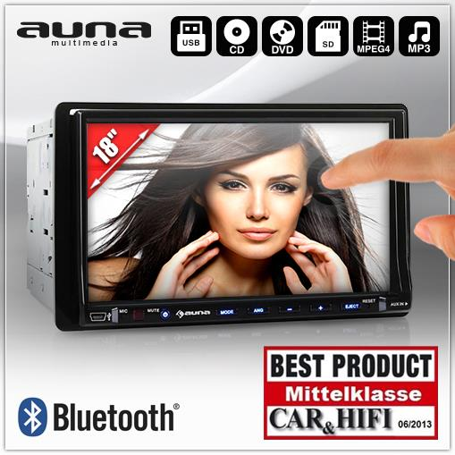 AUNA-DVD-AUTORADIO-BLUETOOTH-18CM-7-TOUCHSCREEN-USB-SD-MP3-PLAYER-DOPPEL-DIN