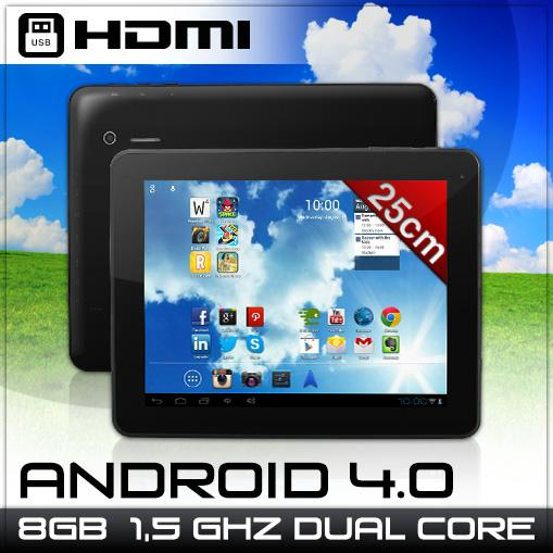 DENVER-TAD-97052-TABLET-PC-9-7-ZOLL-8GB-1-5Ghz-DUAL-CORE-ANDROID4-0-KAMERA-W-LAN