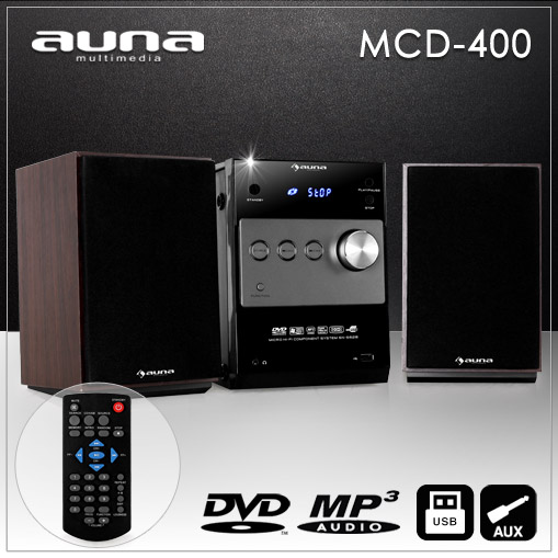 MINI-STEREO-ANLAGE-HIFI-MUSIK-SYSTEM-DVD-CD-MP3-PLAYER-UKW-RADIO-USB-HDMI-AUX