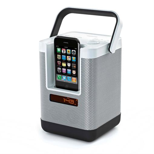MOBILE-MEMOREX-IPOD-IPHONE-DOCKING-STATION-DOCK-AKKU-LAUTSPRECHER-RADIO-TUNER