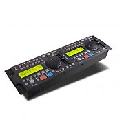 DJ-Tech U-2 Doppel-USB-DJ MP3 Controller Scratch 9 Effekte