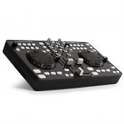 DJ-Tech i-Mix USB DJ-Konsole MIDI 2 Decks Traktor