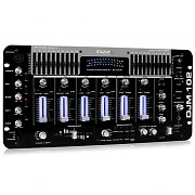 IBIZA DJM-102 4-Kanal-Mixer LED Echo Effekte Battle Profi