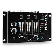 Auna TMX-2211 3/2-Kanal DJ Mixer Mischpult Talkover Party