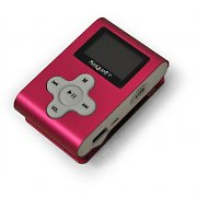 MP3-Player Marquant MMP3-39 4GB 21g 3x1x4,5cm pink - wiederverpackt