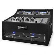 Skytec STK-300 PA-Anlage DJ-USB/SD/CD-Player Mixer Rack