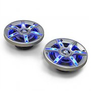 "Auna CS-LED4 Altavoces de coche 10 cm (4"") 500W LED azul"