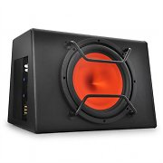 "aktiver Auto-Subwoofer 30cm (12"") 500W schwarz orange"