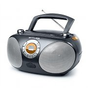 Muse M25-RD mobiles CD-Radio USB-MP3 Boombox Batterie