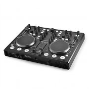 Power Dynamics PDC-07 Double DJ-kontrolleri &USB-MIDI-liitin
