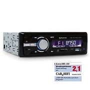 Auna MD-120 Radio de coche USB SD MP3 4 x 75W
