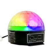Beamz Magic Jelly DJ-Ball Effet lumineux LED  RBV DMX