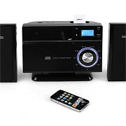 Auna VM-192i Stereo Bluetooth CD USB iPhone-iPod-Dock