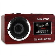 Majestic AH 173 Radio compatta MP3-Player USB SD AUX