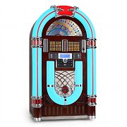 Majestic JB 3710TT Jukebox USB SD CD AUX RADIO Plattenspieler LED