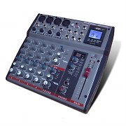 Phonic AM440DP table de mixage 8 canaux DSP multieffets USB