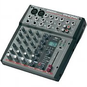 Phonic AM220 Table de mixage 6 pistes 2 canaux mono Mixer DJ