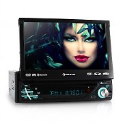 auna MVD-220 Autoradio DVD CD MP3 USB SD AUX 7'' Touchscreen Bluetooth