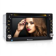 Auna MVD-480 Moniceiver DVD CD MP3 USB SD HD 6,2'' Touchscreen Bluetooth