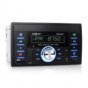 oneConcept MD-230BT Bluetooth-Autoradio USB SD AUX Doppel-DIN