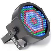 Beamz LED FlatPAR 154x Projecteur LED-PAR 10mm RGBW