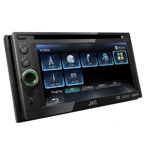 JVC KW-AV51 ()_Autoradio DVD USB Touchscreen 6,1""