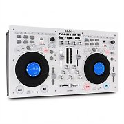 Ibiza Full-Station DJ Set Doppel CD-Player Scratch Mixer USB SD MP3