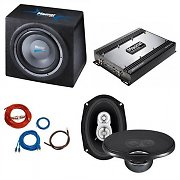 Magnat Edition Set 4693 Car HiFi 2.1 Set