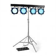 Beamz 4-Way PARBAR 145 Barre LED PAR 580 LEDs RVB DMX