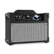 DJ-Tech Mini Cube BT portable PA-Lautsprecherbox Bluetooth USB AUX schwarz