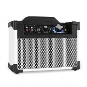 DJ-Tech Mini Cube BT Cassa portatile bluetooth USB AUX bianco