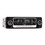 Auna RMD-Sender-One Autoradio Bluetooth USB SD MP3 AUX CD Retro schwarz