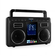 Roadstar TRA-800BT Stereo-Bluetooth-Radio AUX LCD Akku