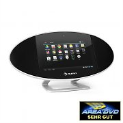 "Auna Swizz Mediacenter 18cm (7"")-Touchscreen Android WiFi HDMI Bluetooth USB"