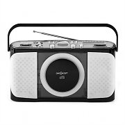oneConcept Boomtown-Beach portable CD-Player MP3 USB Radio vollmobil