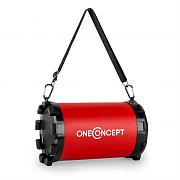 oneConcept Dr. Red Boom 2.1 altoparlante Bluetooth USB SD