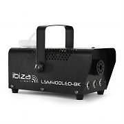 Ibiza LSM400LED-BK Mini Nebelmaschine amber LED