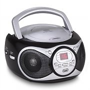 Trevi CD 512 odtwarzacz CD MP3 radio AM/FM AUX czarny