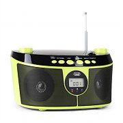 Trevi CMP 546 BT odtwarzacz CD Bluetooth radio FM/AM AUX  zielony