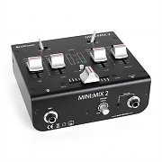 Citronic Mini:Mix 2 Mini-DJ-Mixer 2-Kanal USB Cinch schwarz