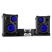 Malone Hotrod 4000 All-In-One-Audiosystem 2000W Bluetooth DVD HDMI USB AUX