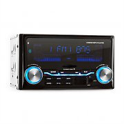 auna MD-200BT Autoradio USB SD MP3 Bluetooth 3 Farben