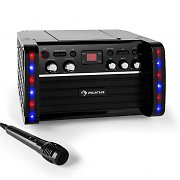 auna Disco Fever Karaoke-Anlage CD-/CD+G-Player iPad-Halterung