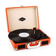 Auna Peggy Sue Retro-Plattenspieler LP USB orange