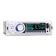 oneConcept MD-185 Autoradio MP3 USB SD UKW AUX Pre-Out weiß
