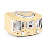 auna RCD320 Retro-CD-Player UKW AUX creme