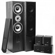 Skytronic Sistema Home Cinema 5.0 335W RMS Negro