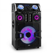 Malone Giga Party 1500 DJ-Party-Audiosystem 300W Bluetooth UKW USB AUX MP3