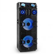 Malone Giga Party 2500 DJ-Party-Audiosystem 480W Bluetooth UKW USB AUX MP3