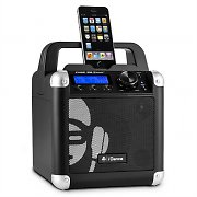 iDance Mobile Cube BC1 portables Bluetooth-Sound-System 50W USB AUX MIC